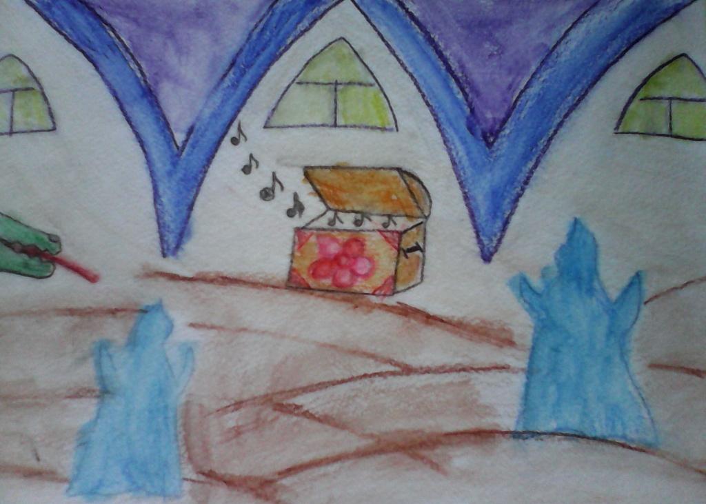 "Аксенова Света - программа с участием ансамбля ""Insula magica"" и песочного шоу - ""В подземелье замка Кастильяно"""