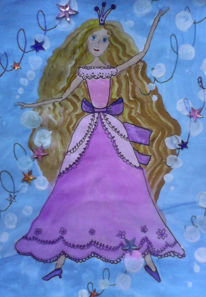 """Круш Полина - пьеса для фортепиано в четыре руки """"Принцесса танцует вальс"""""""